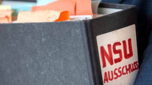 NSU-Ausschuss vernimmt Neonazis