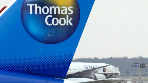 Thomas Cook schliesst Flug-Toechter zusammen