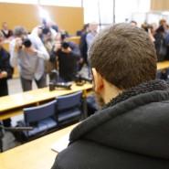 Will als Märtyrer sterben: Kreshnik B. ist wegen seiner Beteiligung an Kämpfen der Terrormiliz IS vor dem Frankfurter Oberlandesgericht angeklagt.