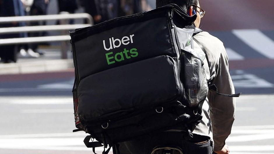 Bringer: Radkurier von Uber Eats – aufgenommen in Tokio