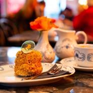 """Frankfurter Kranz: Kuchen mit Goethe im """"Café Utopia"""" in Frankfurt"""
