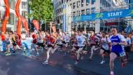 Zehntausende joggen in den Feierabend