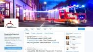 Frankfurter Feuerwehr im Twitter-Einsatz