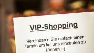Vorbild Mainz: In Hessen gibt es Click and Meet von Montag an auch, der hessische Handelsverband hatte es vorgeschlagen