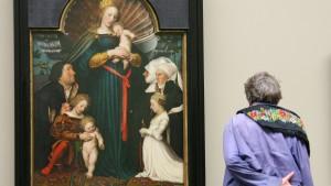 Holbein-Madonna nur noch wenige Tage im Städel