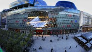"""Design vom italienischen Star-Architekten: Das Frankfurter Shoppingcenter """"MyZeil"""", das nun verkauft wurde"""