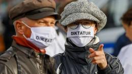 Streit um Vorgehen gegen Gegendemonstranten