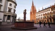 Landeshauptstadt Wiesbaden: Politisch gesehen war es für Wiesbaden ein Jahr des Auf und Ab.