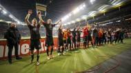 Das jüngste Bundesligaspiel der Eintracht und der jüngste Bundesligasieg: Eintracht Frankfurt gewann 2:1 gegen Werder Bremen.