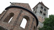 Wahrzeichen: Die Stiftsruine der ehemaligen Abtei Hersfeld