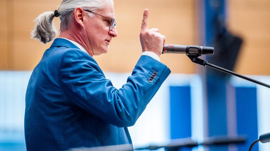 Zum Spitzenkandidaten gewählt: Patrick Schenk