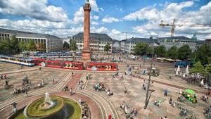 Darmstadt will Umweltzone in Innenstadt