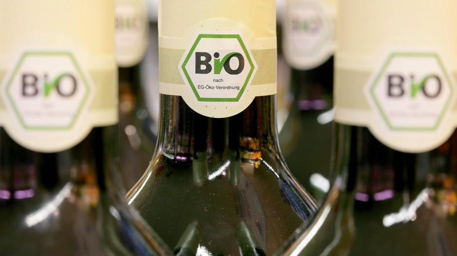 Nischenprodukt: Biowein