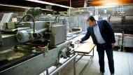 """""""Das wird nicht meine letzte Bäckerei sein"""": Oliver Mayer in seinem geschlossenen Betrieb"""