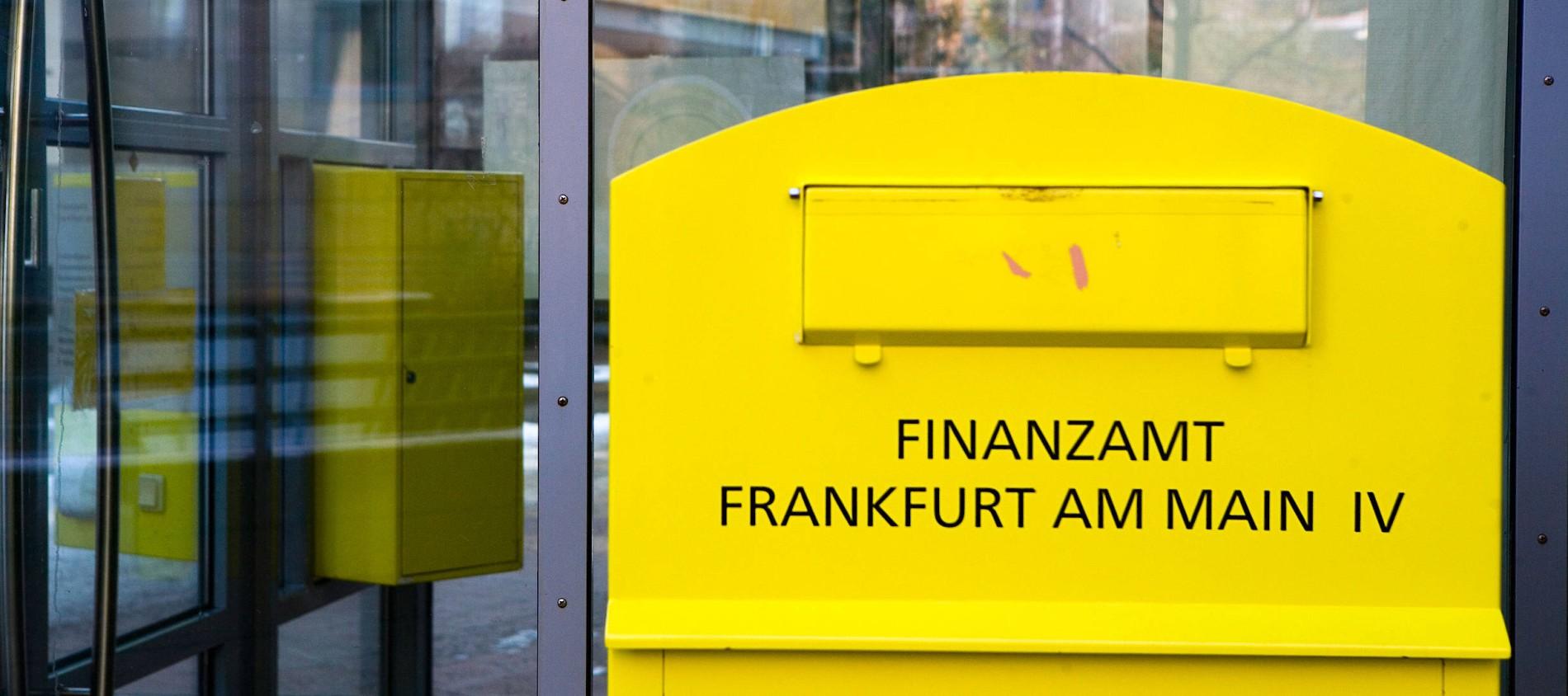 Land Hessen Will Frankfurter Finanzamter Zusammenlegen