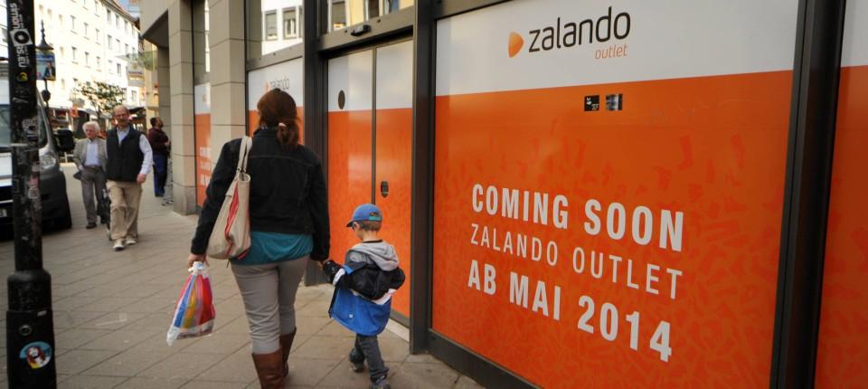 Zalando Eröffnet Zweites Outlet In Frankfurt