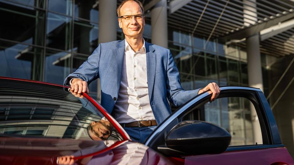 Profiteur: Opel hat unter Chef Michael Lohscheller 2020 eine halbe Milliarde Gewinn gemacht.