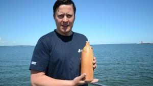 200 Jahre alte Flasche in Danziger Bucht