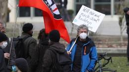 Hunderte demonstrieren gegen Auftritt von Höcke