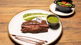 Fleisch und Bohnen und der Als-ob-Burger