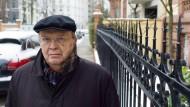 Aufmerksamer Beobachter seiner Stadt: Wilhelm Genazino unterwegs in Frankfurt