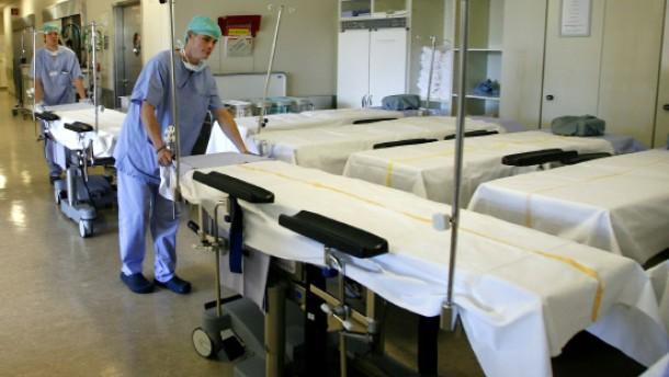 klinikum hanau weniger leerlauf im op mehr zeit am krankenbett region faz. Black Bedroom Furniture Sets. Home Design Ideas