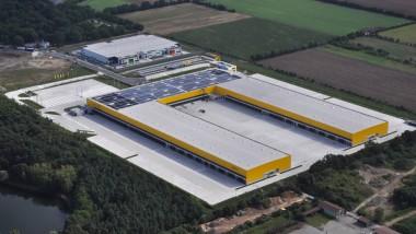 50.000 Pakete in der Stunde sollen durch das neue Verteilzentrum Obertshausen laufen, um schnell zum Kunden zu kommen.