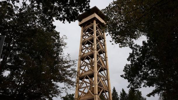 Der Goetheturm ist wieder da