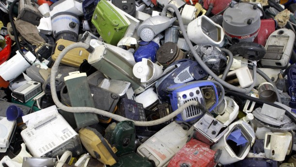 Elektroschrott-Recycling nach EU-Richtline