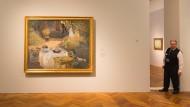 """Meisterwerk: Claude Monets Gemälde """"Das Mittagessen: dekorative Tafel"""" aus dem Pariser Musée d'Orsay"""