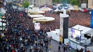 Besuchermagnet: das Schlossgrabenfest Darmstadt