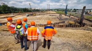 Arbeiten für Riederwaldtunnel gehen doch voran