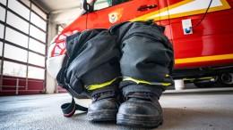 Feuerwehrleute freiwillig in Quarantäne