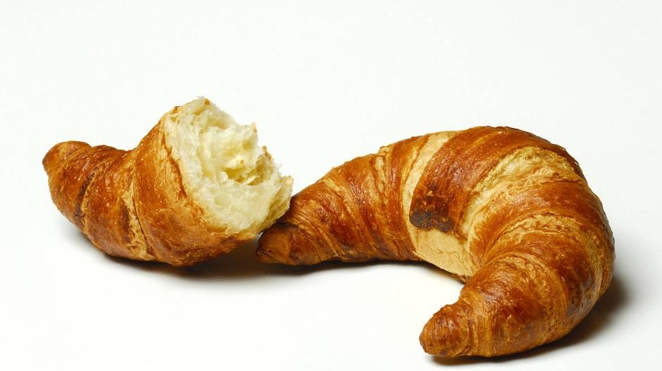 Fluffig: Im Museumslokal können Kunden gute Buttercroissants kaufen.