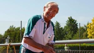 Mit 90 noch verrückt nach Sport
