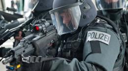 SEK-Einsatz im Frankfurter Gallus