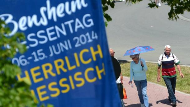 Auf Hessentag 460 Polizisten vereidigt