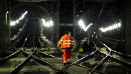 Bahn saniert Netz in Hessen