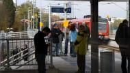 Mann von S-Bahn in Eschborn überfahren
