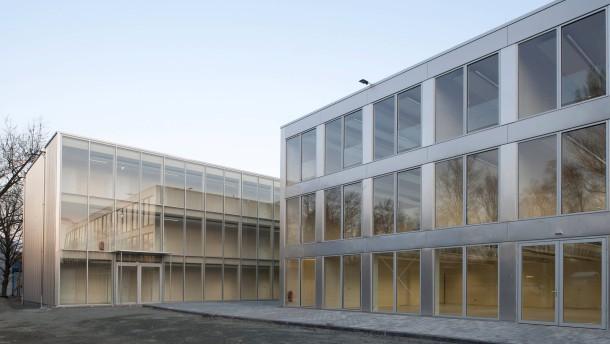 Frankfurt europ ische schule schulbau im eiltempo for Mode bekleidung schule frankfurt