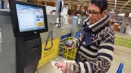 Eigenhändig: Selbstscan-Kasse bei Ikea