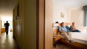 Asylsuchende statt Sommergäste