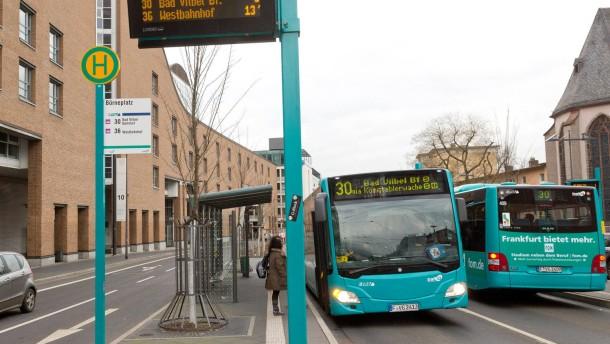 Frankfurt schreibt nicht mehr alle Buslinien aus