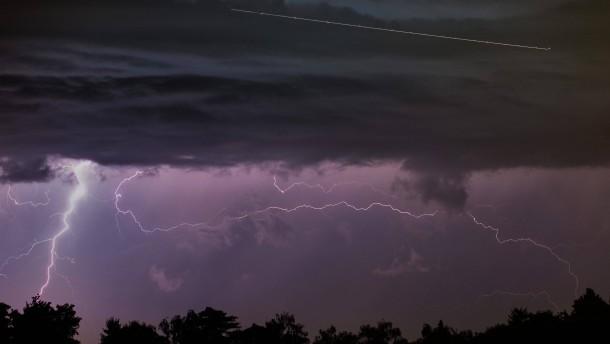 Starke Unwetter setzen Teile Hessen unter Wasser