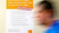 Doch nicht dringend? Der Ansturm auf die neue zentrale Termin- Vermittlungsstelle für Akutpatienten bleibt in Hessen bisher aus