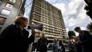 Hier protestiert der Mittelstand: gegen die Umwandlung von Büros zu Luxuswohnungen