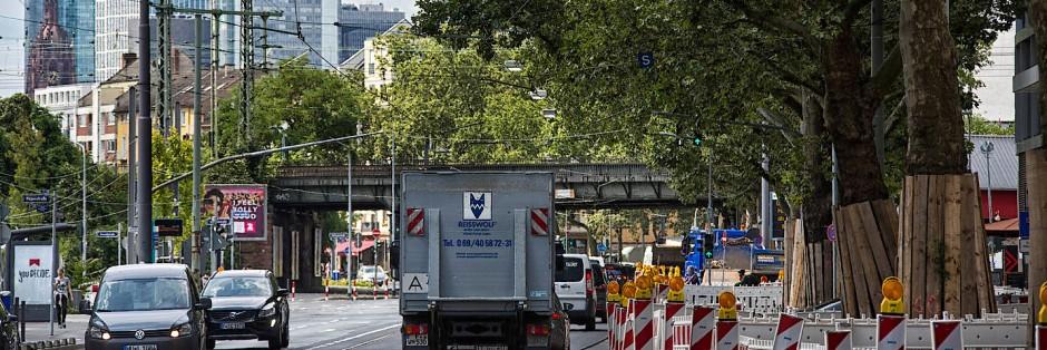 Bilderstrecke Zu Die Sommerbaustellen 2016 In Frankfurt Bild 1