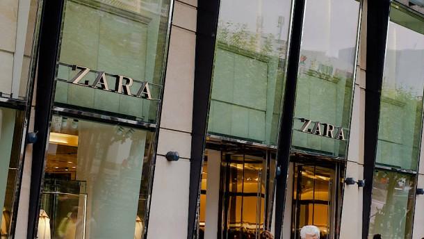 Zara kehrt der Zeil den Rücken