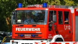 Feuerwehr rückt von altem Militärgelände aus