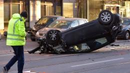 Unfall oder doch eine Amokfahrt?